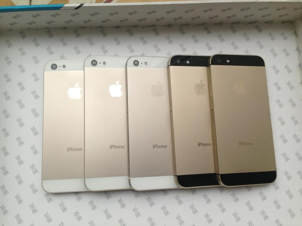 Vỏ Iphone 5 Gold
