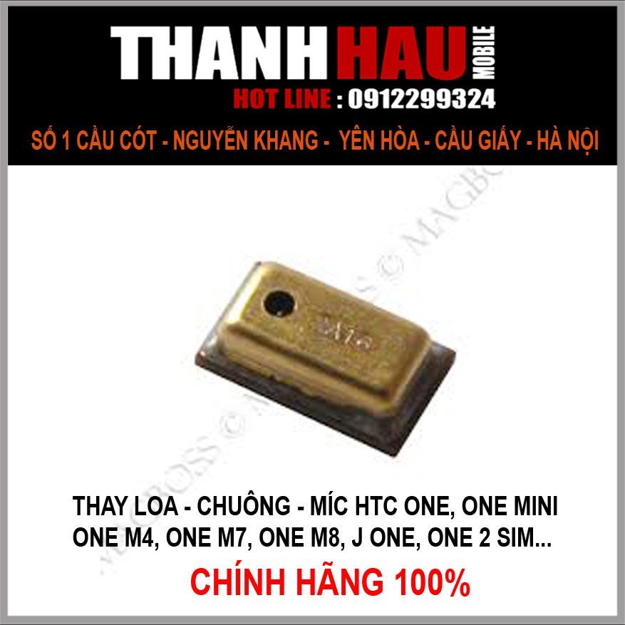 Thay míc htc one M7 giá rẻ nhất Hà Nội