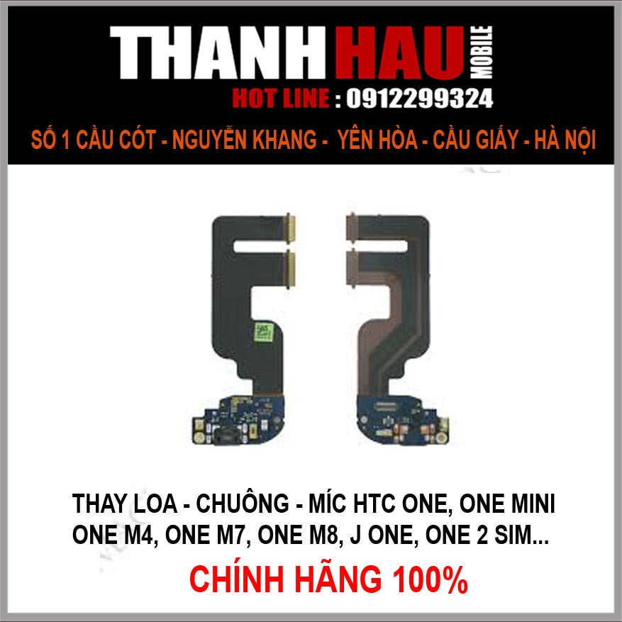 thay loa míc chính hãng HTC ONE M8 ở đâu tốt nhất? chuyên loa zin m8, loa trên loa dưới hàng theo máy htc one M8 tại thanhhaumobile.com