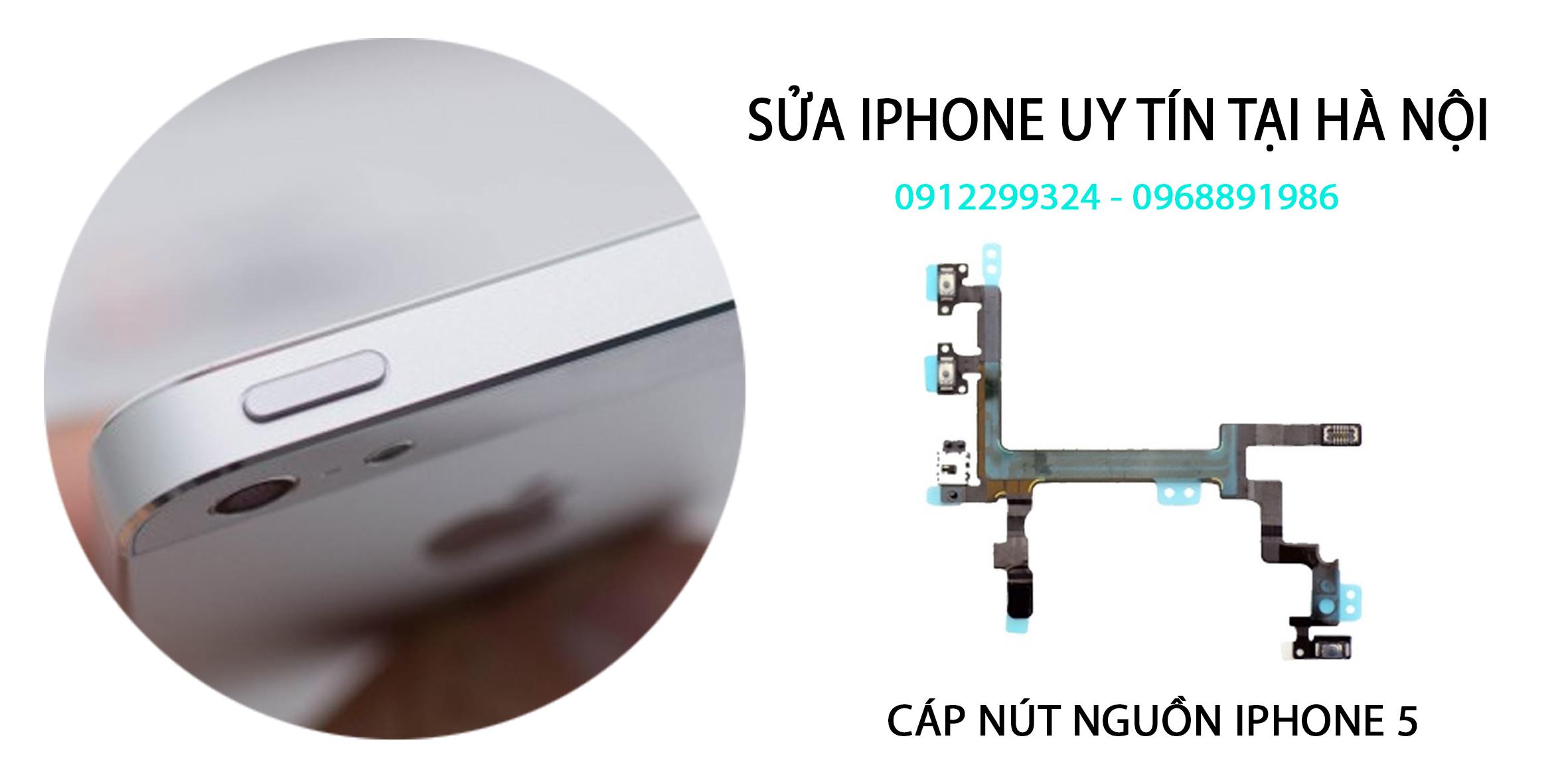 SỬA NÚT NGUỒN IPHONE 5 HÀ NỘI| Sửa nút nguồn iphone 5 bị liệt ở Hà Nội