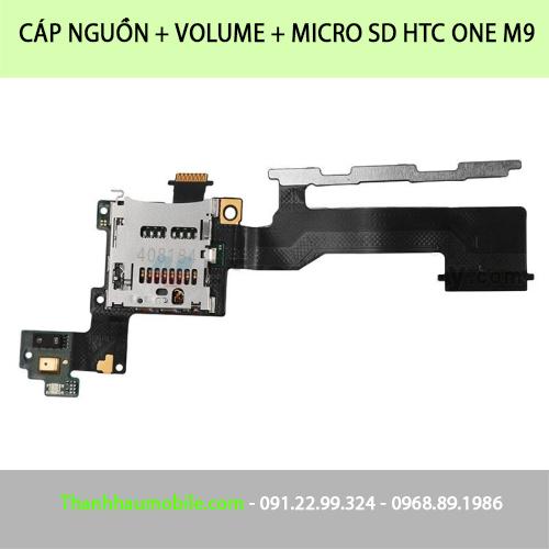 Sửa/thay cáp phím volume - nguồn  HTC ONE M7, M8, M9 uy tín lấy ngay HN