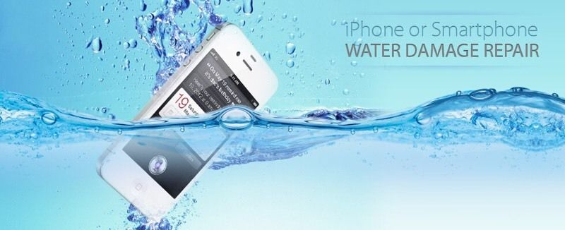 Sửa iphone bị rơi xuống nước | iPhone 5,5s,6,6s,6s plus rớt nước biển