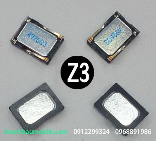 Sửa loa Sony z3 bị rè | loa dien thoai Sony Z3 chính hãng HN