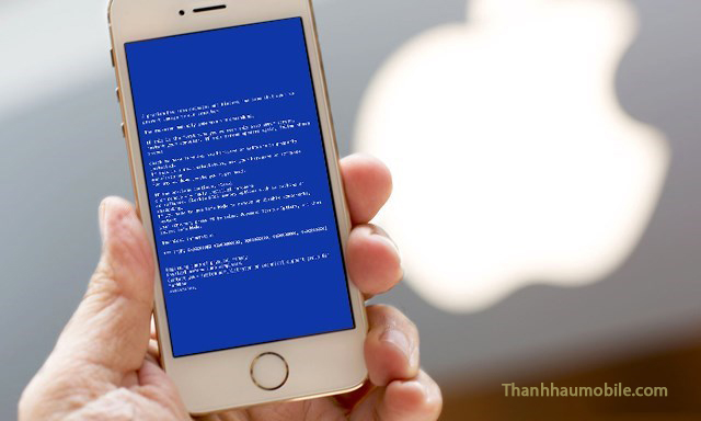 Sửa iphone 6 bị lỗi màn hình xanh tự khởi động lại uy tín ở Hà Nội