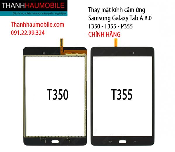 Thay mặt kính cảm ứng Samsung Galaxy Tab A - 8.0 SM-P355/ T355/ T350