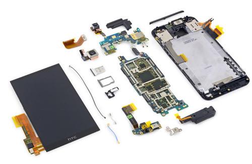 LINH KIỆN HTC ONE M9: ổ cứng, cáp míc, màn hình, mặt kính,khay sim,pin