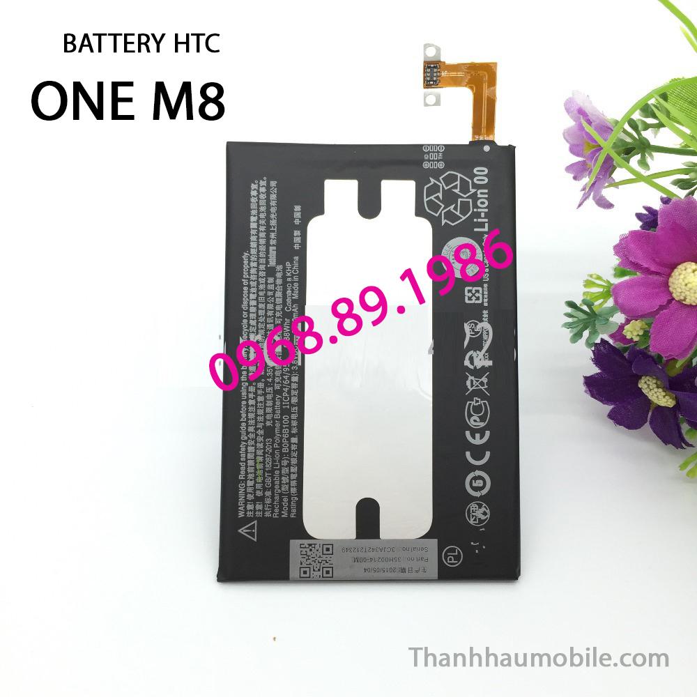 Pin Htc One M8 chính hãng | Thay pin Htc One M8 giá rẻ tốt nhất Hà Nội