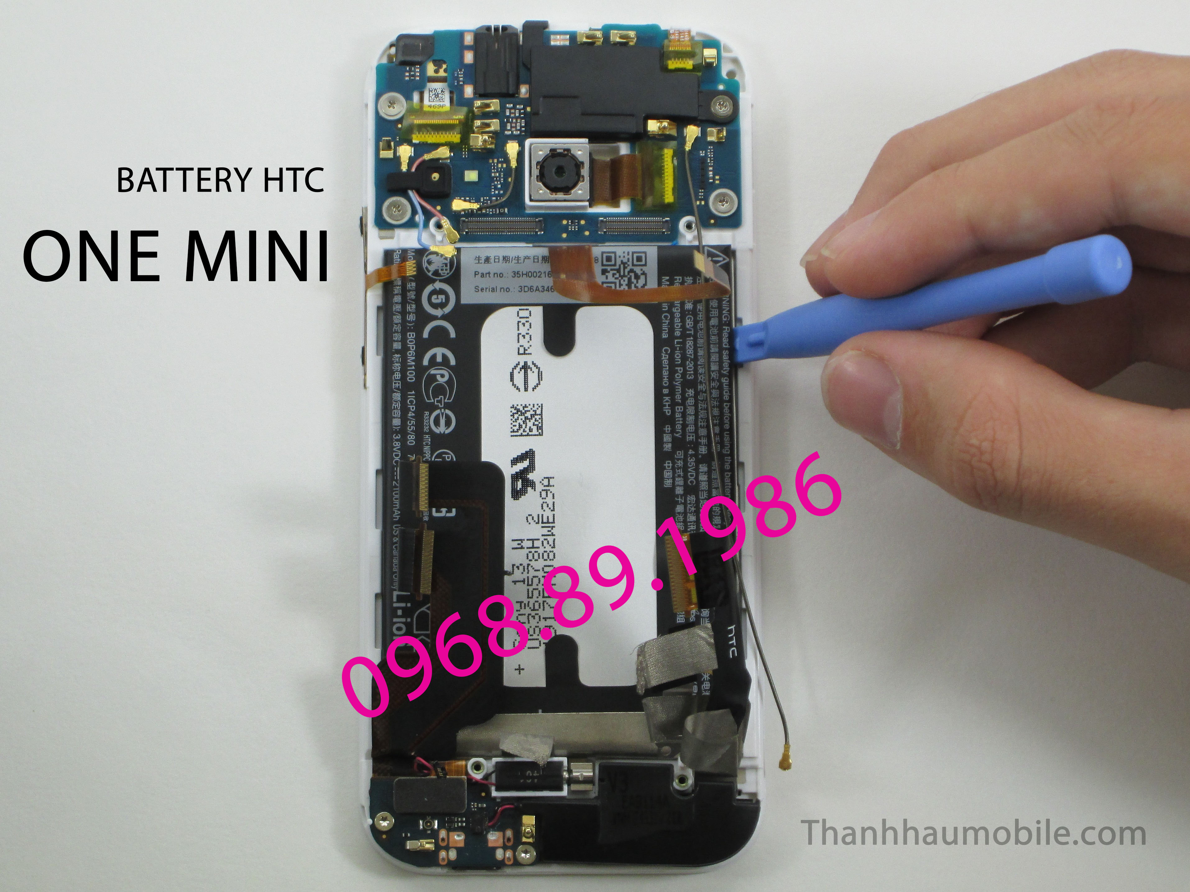 PIN HTC ONE MINI | PIN HTC ONE MINI GIÁ RẺ HÀ NỘI - Thanhhaumobile
