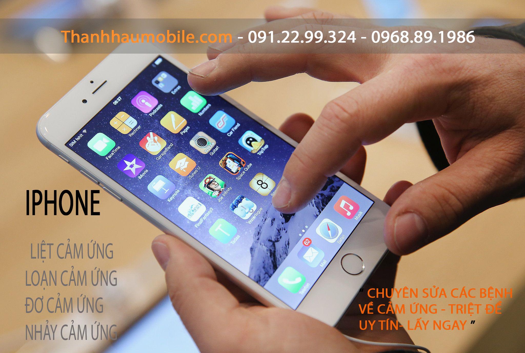 SỬA IPHONE 6 ĐƠ CẢM ỨNG | sửa iphone 6 đơ màn hình cảm ứng | HN