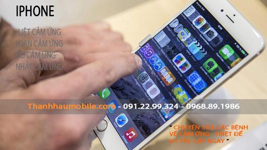 IPHONE 6 PLUS LOẠN CẢM ỨNG | Sửa ở đâu? uy tín? lấy ngay?