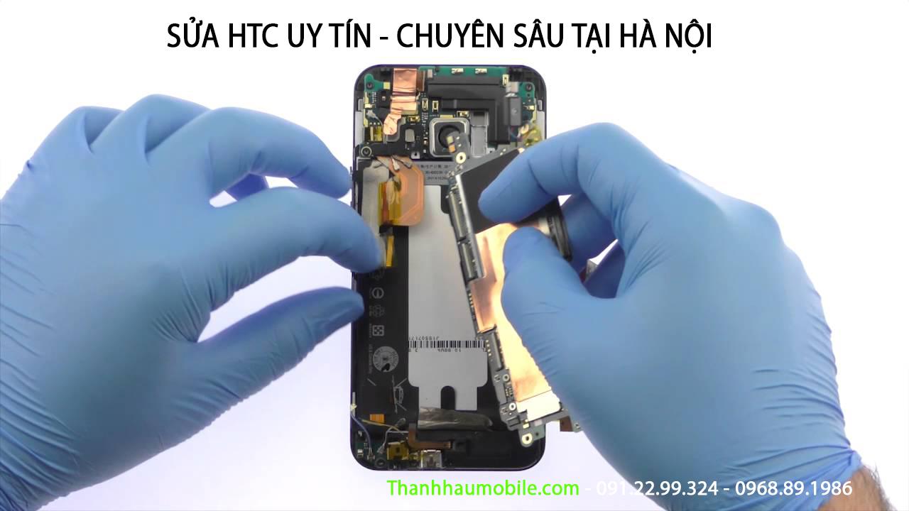 Sửa Htc One M9 mất nguồn, Chuyên sửa htc one m9 lỗi ic nguồn ở Hà Nội