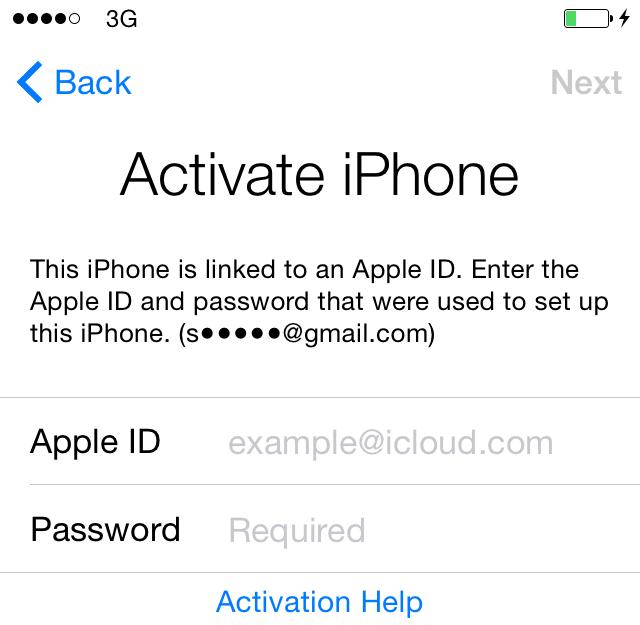 Giá mở khoá icloud iphone 6 | Mở khoá icloud iphone 6 giá bao nhiêu?