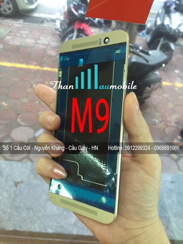 THAY VỎ HTC ONE M9 GOLD GIÁ RẺ LẤY NGAY TẠI HÀ NỘI