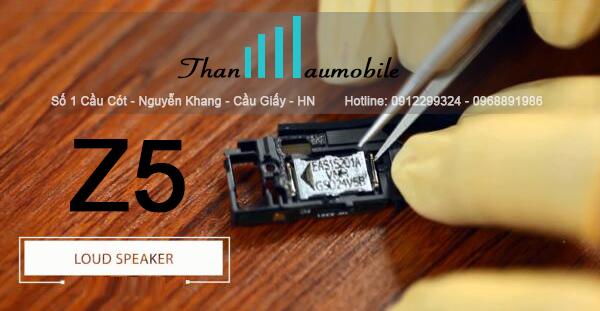 Nguyên nhân và cách khắc phục loa Sony Z5 lỗi rè nhỏ - Thanhhaumobile