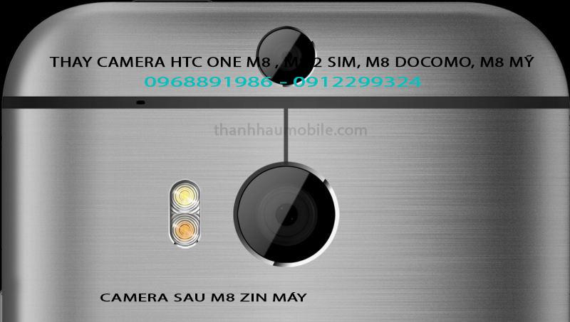 CAMERA HTC ONE M8 BỊ RUNG LỖI KHÔNG LẤY NÉT ĐƯỢC KÊU XẸT XẸT