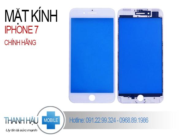ÉP KÍNH IPHONE 7 LẤY NGAY - 30 phút | Thanh Hậu Mobile