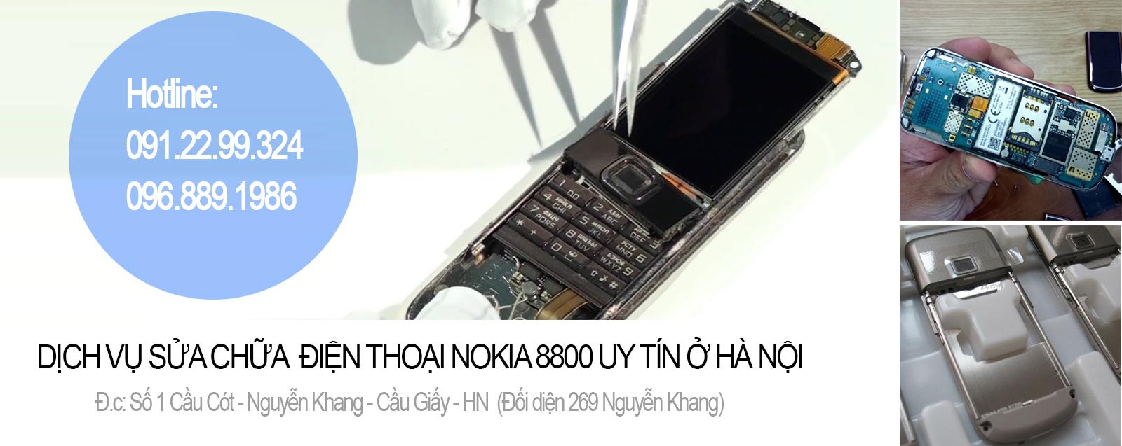 SỬA ĐIỆN THOẠI NOKIA 8800 TẠI HÀ NỘI | Sửa Nokia 8800 uy tín