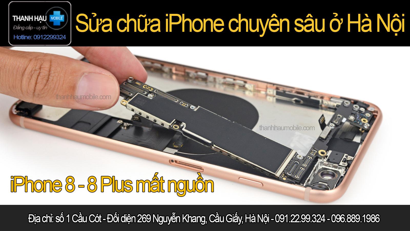 Thay ic nguồn iphone 8,8 plus giá bao nhiêu? sửa nguồn ip8 plus giá rẻ