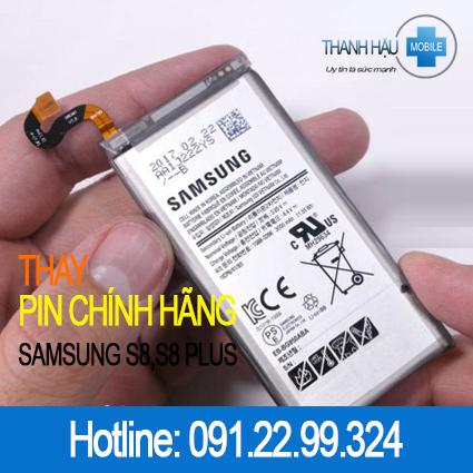 Thay pin Samsung Galaxy S8 - S8 Plus chính hãng giá rẻ tại Hà Nội