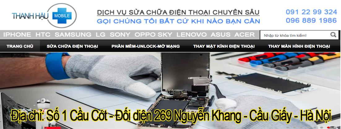 Sửa chữa điện thoại | Sửa chữa điện thoại uy tín tại Hà Nội -Thanhhaumobile