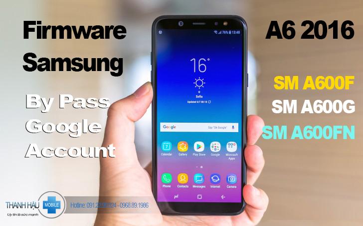 Fix lỗi samsung A6 2018 treo logo, phá tài khoản google account SS A6